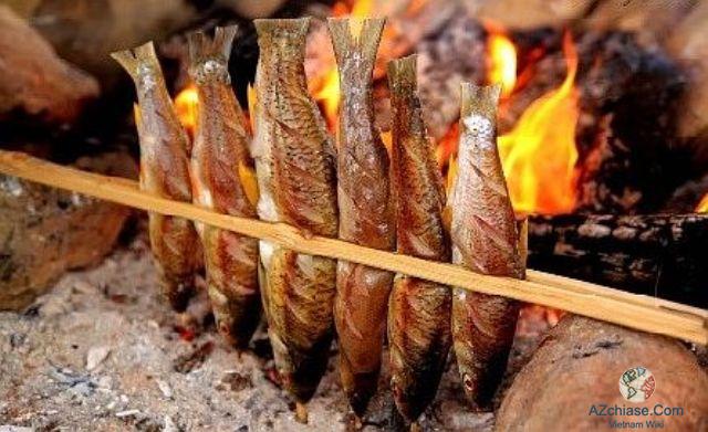 cá nướng sapa
