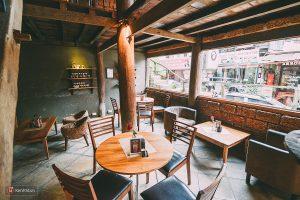 Những quán cà phê tại thị trấn Sapa ngồi cả ngày không biết chán