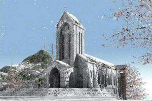 Sapa tháng 1 cảnh sắc thiên nhiên hòa trong mùa tuyết trắng